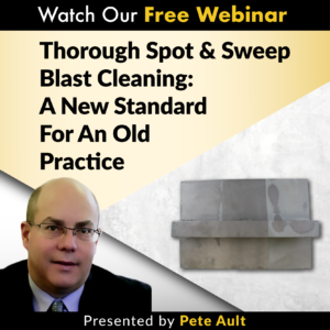 SSPC SP 18 Webinar Spot and Sweep Blasting